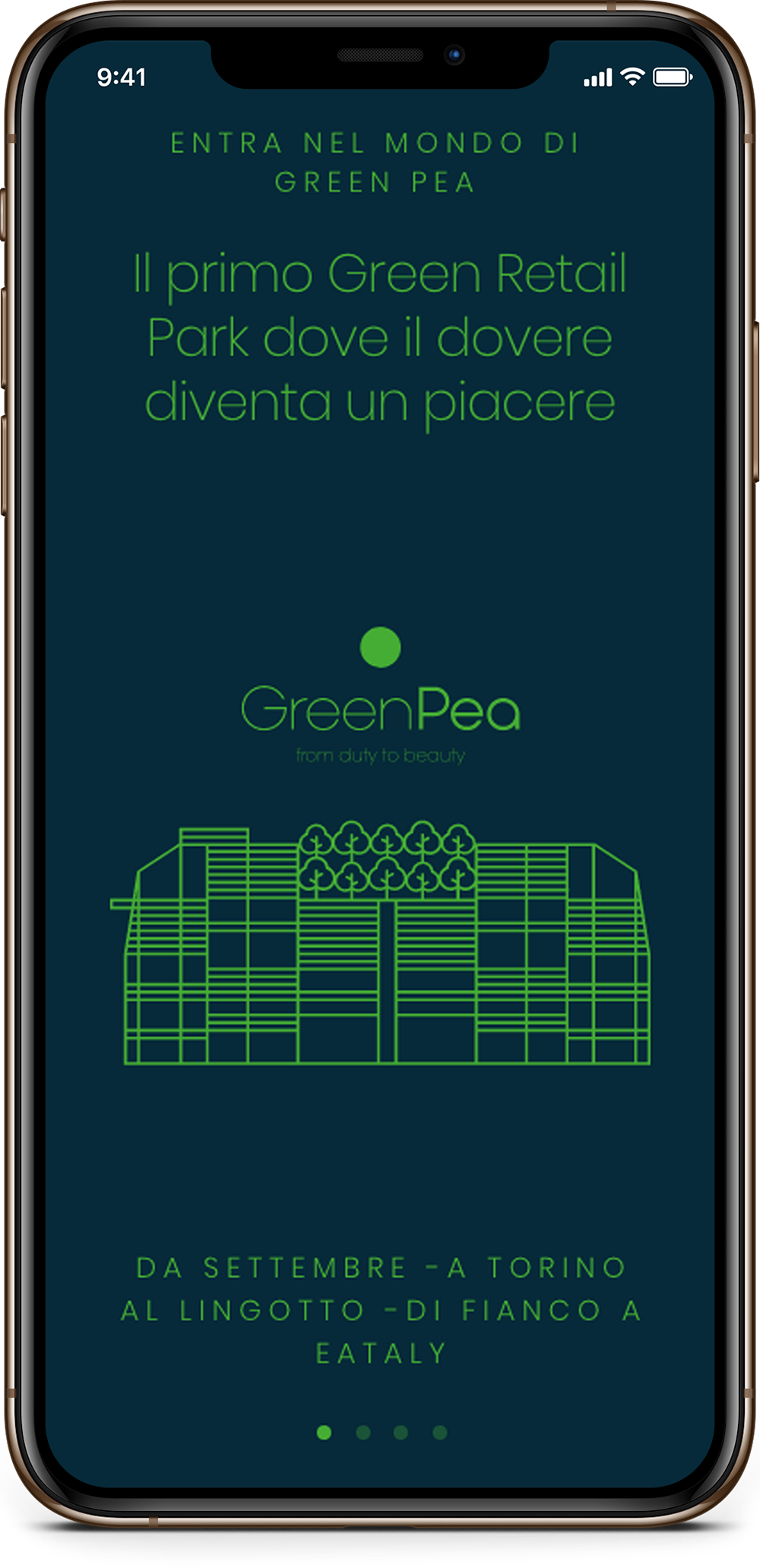 Dettagli app Green Pea