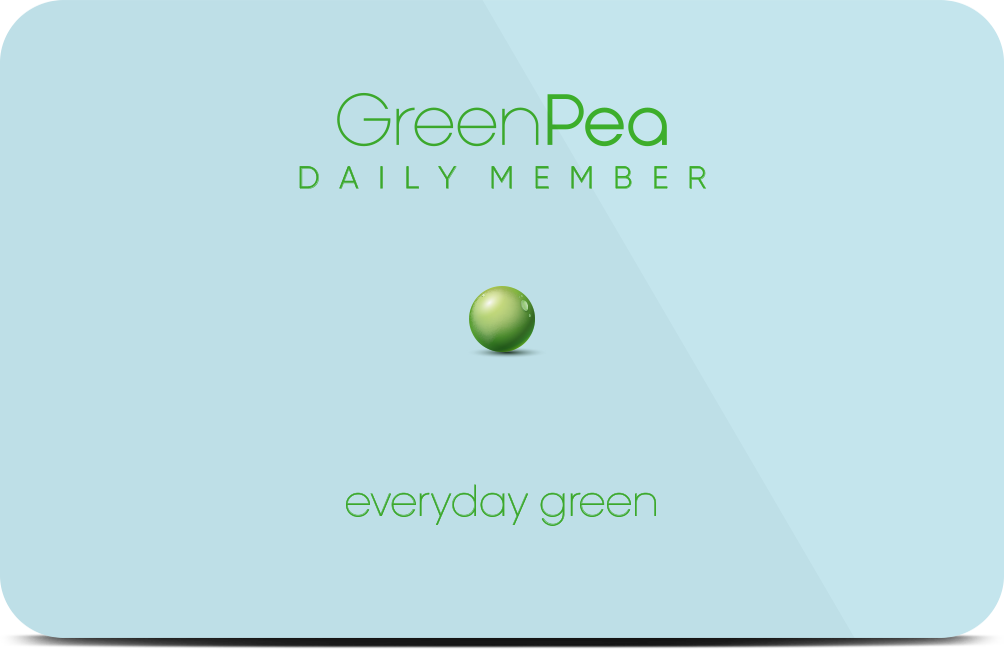 Green Pea Daily Member - Everyday green