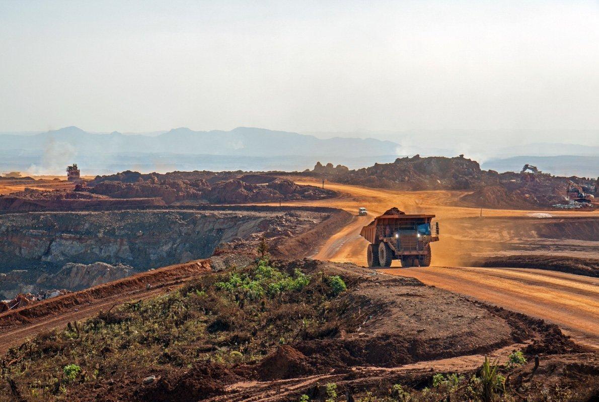 Miniera a cielo aperto, Africa – Antropocene