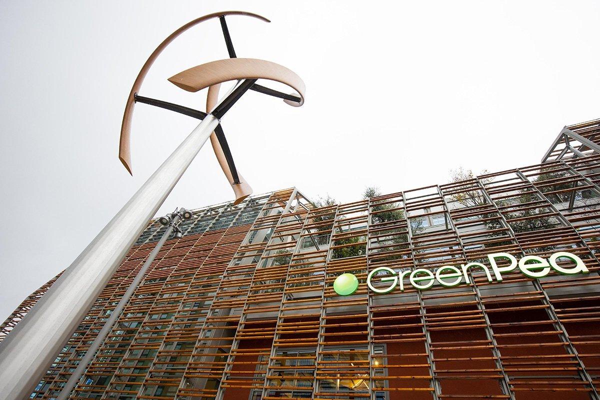 Green Pea il Building