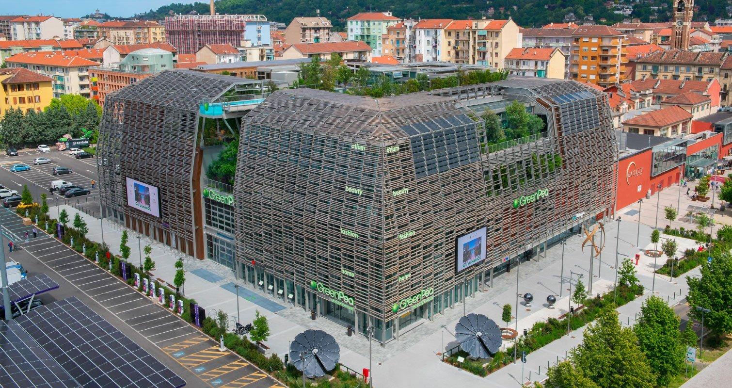 Green Pea - Building